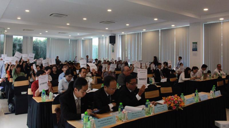 Đại hội cổ đông bất thường của Công ty Cổ phần Địa ốc Sài Gòn Thương Tín.
