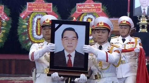 Lễ di quan nguyên Thủ tướng Phan Văn Khải sáng 22/3.