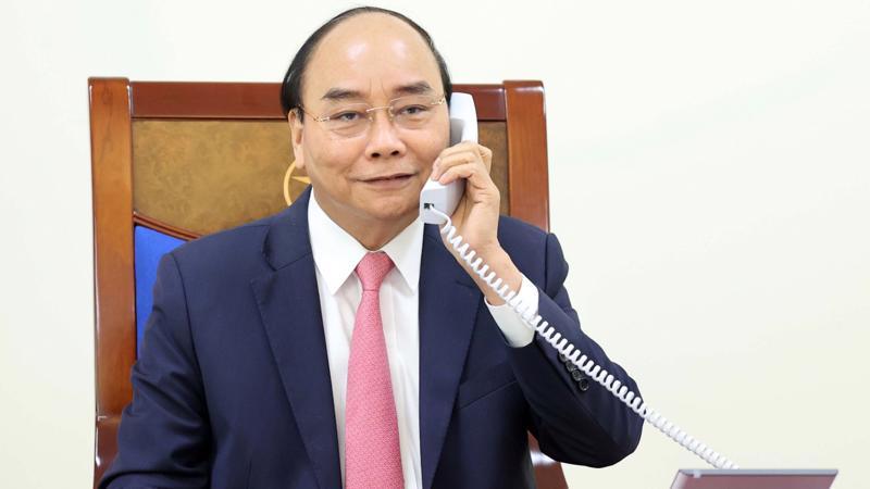 Tại cuộc điện đàm, Thủ tướng Chính phủ Nguyễn Xuân Phúc khẳng định Việt Nam luôn coi trọng phát triển quan hệ hữu nghị và hợp tác nhiều mặt với Hà Lan.
