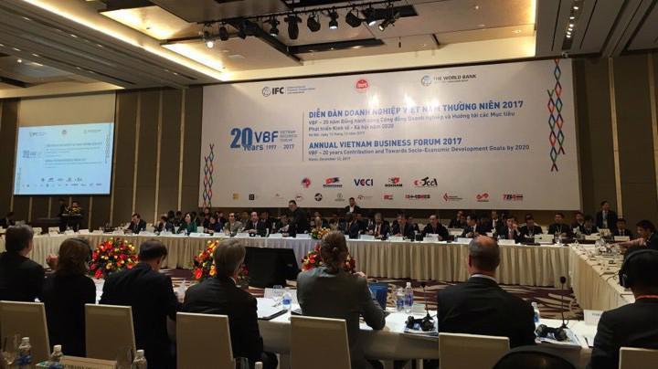 Diễn đàn Doanh nghiệp Việt Nam ghi nhận nhiều ý kiến từ cộng đồng doanh nghiệp cả trong và ngoài nước.