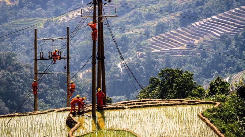EVN có nhiều nỗ lực trong việc đưa điện về nông thôn, hải đảo