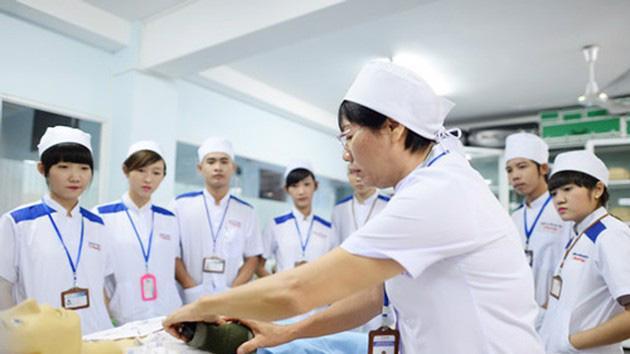 Các ứng viên điều dưỡng, hộ lý của Việt Nam được tuyển chọn, đào tạo chặt chẽ trước khi sang Nhật làm việc. Ảnh minh họa.