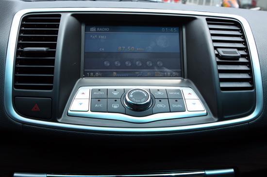Cửa gió điều hòa trung tâm của Nissan Teana 2.0 nhập Đài Loan.