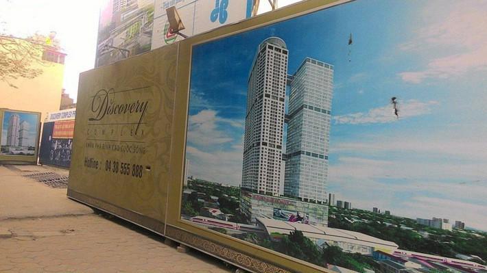 Hà Nội ngừng cấp điện, nước cho dự án Discovery Complex.