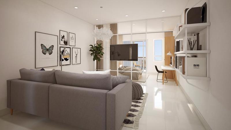 Khách hàng được tặng trọn bộ nội thất khi mua căn Studio trong ngày 24 - 25/3.