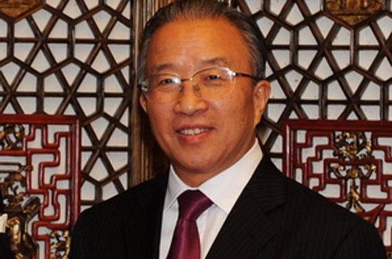 Ủy viên Quốc vụ nước Cộng hòa Nhân dân Trung Hoa Đới Bỉnh Quốc - Ảnh: THX/TTXVN