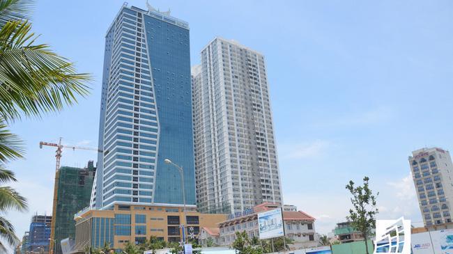 Tổ hợp căn hộ - khách sạn Mường Thanh Đà Nẵng có quá nhiều sai phạm về xây dựng.