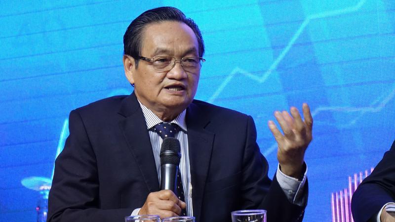 TS Trần Du Lịch, một trong những diễn giả quen thuộc của hội thảo - Ảnh: Việt Tuấn.
