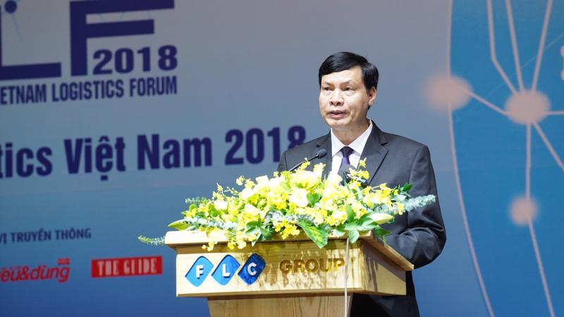 Chủ tịch UBND tỉnh Quảng Ninh Nguyễn Đức Long phát biểu tại diễn đàn - Ảnh: Việt Tuấn.