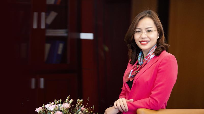 Tiến sỹ Hương Trần Kiều Dung - Phó chủ tịch kiêm Tổng giám đốc Tập đoàn FLC.