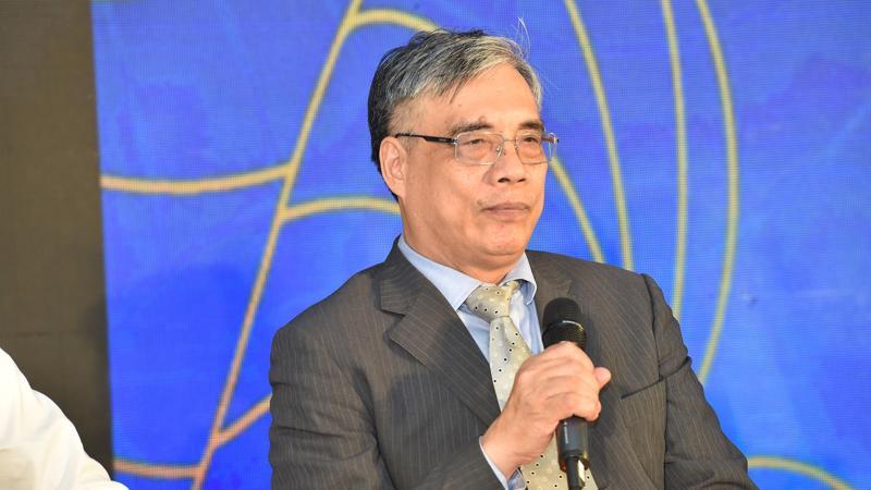Ông Trần Đình Thiên, thành viên tổ tư vấn kinh tế của thủ tướng Chính phủ, nguyên Viện trưởng Viện Kinh tế Việt Nam - Ảnh: Quang Phúc.