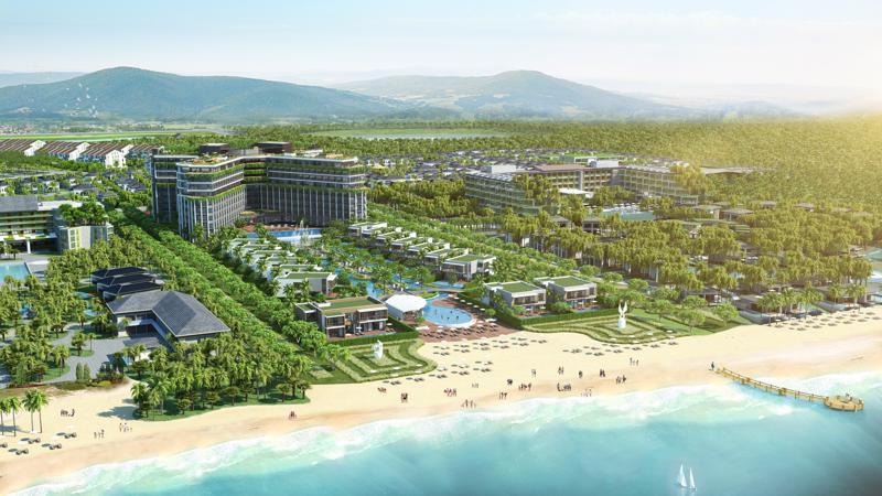 Phối cảnh dự án condotel Best Western Premier Sonasea Phu Quoc.