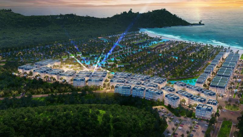 Dự án Sun Premier Village Kem Beach Resort có vị trí đắc địa tại Bãi Kem nổi tiếng.