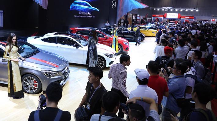 Triển lãm VIMS được kỳ vọng sẽ tạo nên một cú hích cho thị trường ôtô cuối năm trong bối cảnh sức mua cầm chừng.