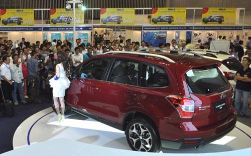 Trong khi nhiều hãng xe chuyển sang Vietnam Motor Show thì Subaru vẫn tiếp tục gắn bó với Saigon Autotech & Accessorie.