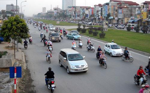 Thành phố quyết định điều chỉnh bổ sung hàng loạt dự án trong lĩnh vực vận tải, xây dựng đường và kiểm soát không khí.