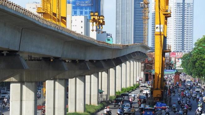Dự án đường sắt đô thị Cát Linh – Hà Đông xin lùi mốc về đích vào cuối năm 2018.
