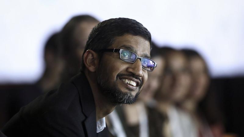 CEO Google Sundar Pichai - Ảnh: Bloomberg.