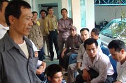 Trong năm 2009 nhiều lao động đã phải về nước trước thời hạn.