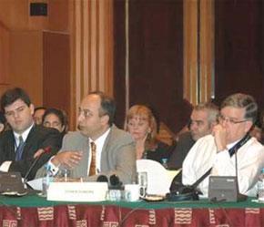 Đại diện các nhà tài trợ quốc tế lớn trong cuộc đối thoại về phòng chống tham nhũng năm 2007 tại Hà Nội ngày 3/12