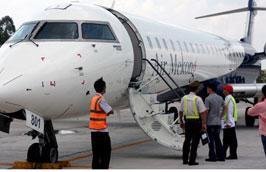 Air Mekong sẽ sử dụng máy bay Bombardier loại CRJ-900 để phục vụ hành khách.