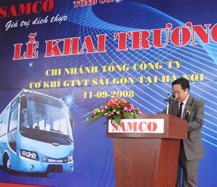 Samco là thương hiệu ôtô trong đã thành công với các dòng xe buýt, xe du lịch đường dài và xe chuyên dùng.
