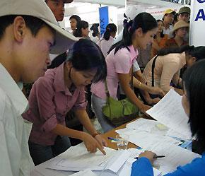 Nguồn nhân lực dồi dào, nhưng Việt Nam lại thiếu hụt lớn lao động có tay nghề cao - Ảnh: Việt Tuấn.