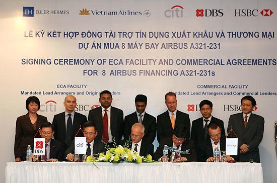Gói tài trợ vốn này được bảo lãnh tín dụng bởi Bộ Tài chính Việt Nam.