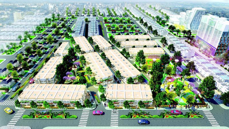 Eco Town Long Thành là dự án hiếm hoi tại Long Thành đáp ứng tốt cả ba nhu cầu gồm an cư, đầu tư sinh lợi và khai thác kinh doanh.