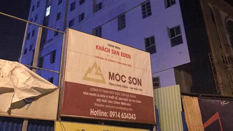 Theo giấy phép được cấp, Eden có 96 phòng ngủ nhưng khách sạn này đã xây 225 phòng, tức vượt 129 phòng.
