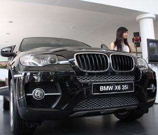 Mẫu xe X6 vừa được Euro Auto tung ra thị trường không nằm trong chương trình giảm giá - Ảnh: Đức Thọ