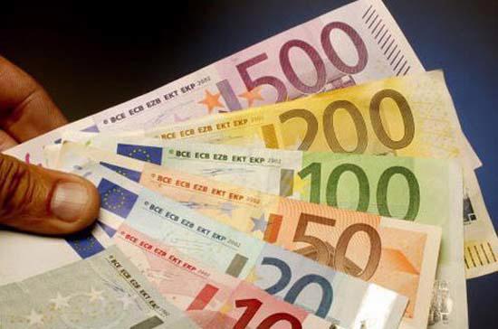 Giá Euro đang biến động mạnh.