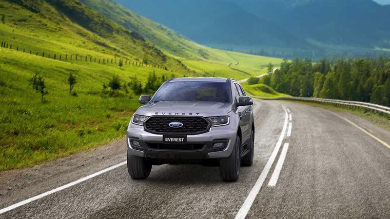 Thiết kế của Ford Everest Sport mang phong cách thể thao theo đúng tên gọi của phiên bản.