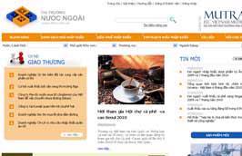 Doanh nghiệp có thể khai thác thông tin xuất khẩu từ website www.ttnn.com.vn