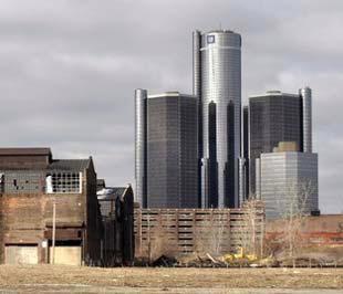 Tổng hành dinh của hãng GM tại bang Detroit, Mỹ - Ảnh: Getty Images.
