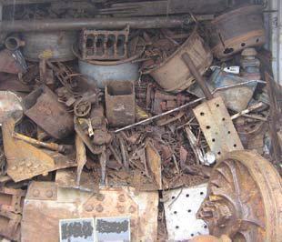 Đoàn kiểm tra Bộ Tài nguyên và Môi trường đã kiến nghị thu hồi toàn bộ 808 tấn sắt thép của Công ty Cổ phần Thép Thành Lợi - Ảnh minh họa.