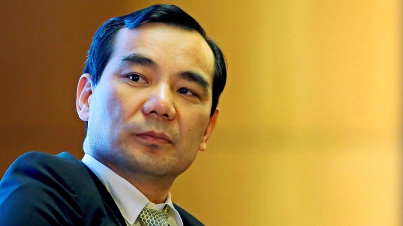 Ông Wu Xiaohui - Chủ tịch Anbang Insurance - Ảnh: Reuters.