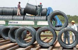 Hai tháng đầu năm 2011, lượng thép tiêu thụ được dự báo chỉ ở mức khoảng 300.000 tấn/tháng.