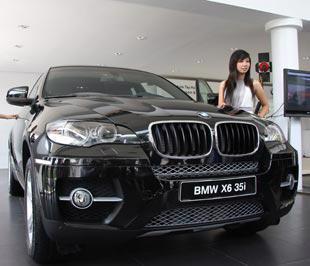 Mẫu xe BMW X6 được Euro Auto phân phối tại Việt Nam - Ảnh: Đức Thọ.