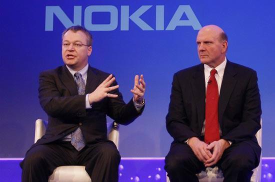 Nokia và Microsoft đang liên kết với nhau, như việc tích hợp hệ điều hành Windows Phone trên điện thoại di động của Nokia.