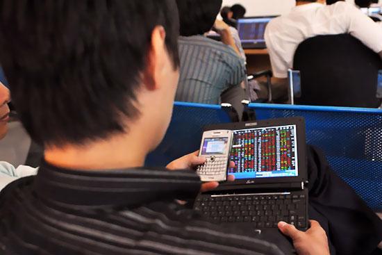 Thị trường vẫn chưa rơi vào tình trạng báo động đối với nhà đầu tư sử dụng đòn bẩy