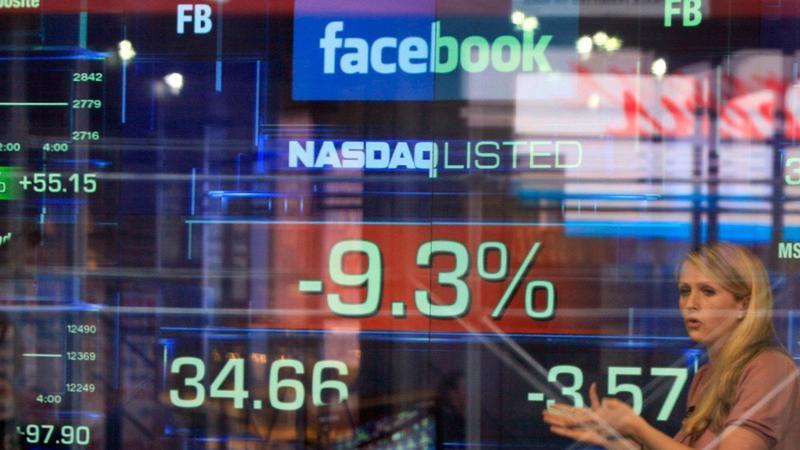 Tổng vốn hóa của nhóm FANG sụt giảm mạnh nhất kể từ khi Facebook lên sàn vào năm 2012 - Ảnh: AP.