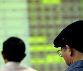 """Thị trường chứng khoán đang rất """"nóng"""" trong thời gian qua."""