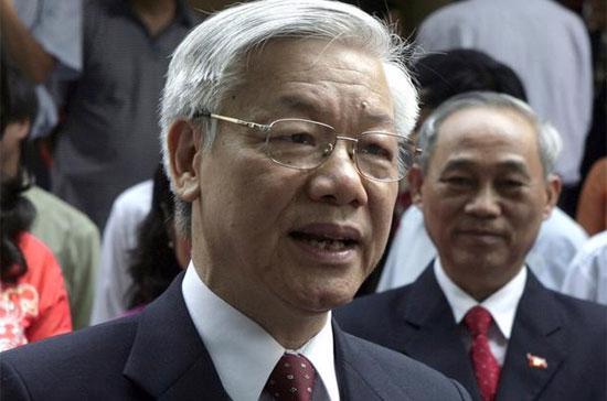Tổng bí thư Nguyễn Phú Trọng: Việc nâng cao phẩm chất và năng lực đội ngũ cán bộ, đảng viên có quan hệ đến niềm tin của nhân dân, đến sự sống còn của Đảng.