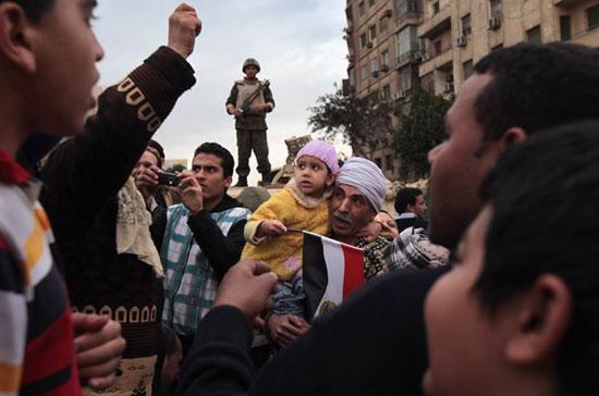 Biểu tình đã gây thiệt hại nặng cho kinh tế Ai Cập.