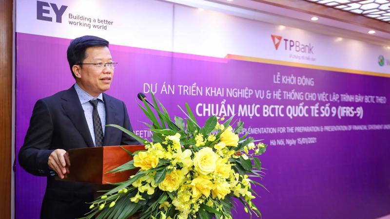 Ông Nguyễn Hưng, CEO TPBank tin tưởng vào thành công của dự án.