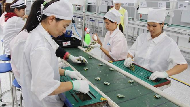 Trị giá nhập của doanh nghiệp FDI cũng chiếm đến 57,4% tổng trị giá nhập khẩu của cả nước. Ảnh minh hoạ