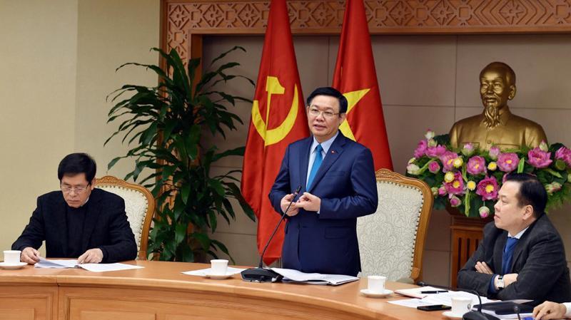 Phó thủ tướng chủ trì cuộc họp của Ban chỉ đạo sáng 31/1.