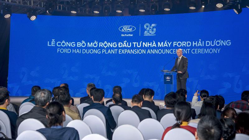 Ford Vietnam tăng cường đầu tư vào Việt Nam