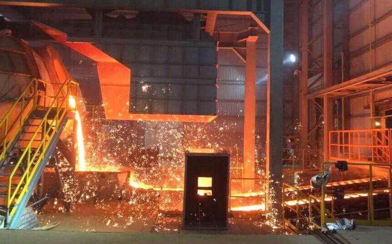 Đến thời điểm hiện tại, Formosa đã sản xuất được 1.400 tấn gang lỏng.<br>